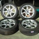 タイヤホイールセット4本 215/50R17