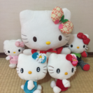 HELLO KITTY  ぬいぐるみセット