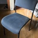 【若干使用感有り】IKEA(イケア) SARNA 来客用チェア ブラック