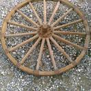 大八車 車輪