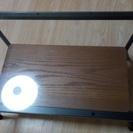【FrancFranc】ガラスローテーブル