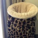 ❤猫ちゃんが入る布団?筒状のベッド❤