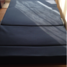 折りたたみ式すのこベッド&マットレス