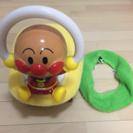 【アンパンマン】おしゃべり補助便座、幼児用おもちゃ