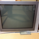 ソニー29インチブラウン管テレビ+地デジチューナー譲ります