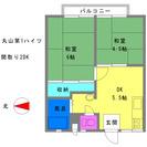 月々38,000円 丸山第1ハイツ 道後温泉駅徒歩19分