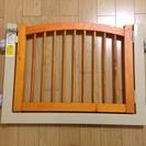 ☆取引中☆アイリスオーヤマ 木製開閉式ペットゲート