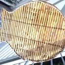 魚の形の折りたたみテーブル