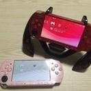 PSP3000本体2台!色々セット  2人ですぐに遊べる