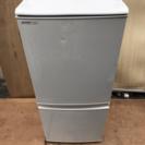 SHARP 137L 2ドア冷凍冷蔵庫 2008年製