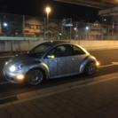 VW ニュービートル1.8ターボ 5MT
