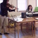 老人施設・児童ディサービスで演奏活動しています。ボーカル募集中!!