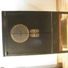 中国家具 中古品 チャイナTVボード (黒・朱)