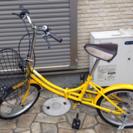 折りたたみ自転車ギア付き使用1年
