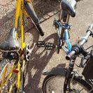 子供用自転車2台 ボロボロです