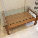 ニトリ★ガラスセンターテーブル