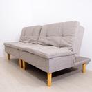 未使用 ソファーにもなる脚付きマットレスベッド 分割式 新生活にお...