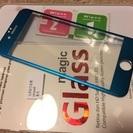 iPhone6 /6S  縁まで覆うアルミカバー  ブルー