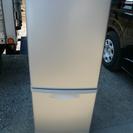 ナショナル National 2ドア冷凍冷蔵庫 NR-B140W 08年