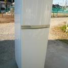 シャープ 2ドア冷蔵庫 225L SJ-23TM-W 08年