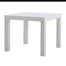 【美品】白のローテーブル