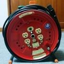 屋内型 単相100Vアース・ブレーカー付 電工ドラム