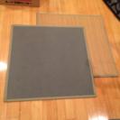 半畳の畳シート2枚