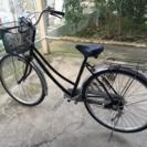 黒い自転車 26インチ