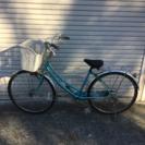26インチ ライトブルー中古自転車