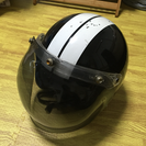ジェットヘルメット バイザー付き