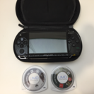 PSPポータブル + 2つのゲーム付き
