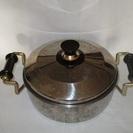 両手鍋 / キッチン用品 / 調理器具(蓋に高さあり)