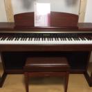 【電子ピアノ】ヤマハ CLP-170M (高低椅子、取説付)