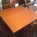 (交渉成立)2倍に広がるテーブル
