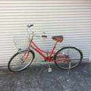 ブリジストン レッド中古自転車