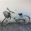Tハンドル ライトブルー 中古自転車