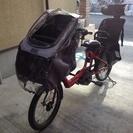 YAMAHA PAS 電動自転車 使用期間2年 雨よけカバー付き