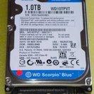 中古12.5mm厚 Western Digital WD10TPV...
