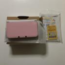 3DS LL ピンク×ホワイト