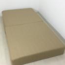 未使用品 訳あり分割式脚付きマットレスベッド シングルサイズ