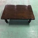 昔ながらのテーブル