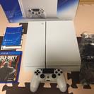 【美品】PS4本体 ホワイト、ソフトセット