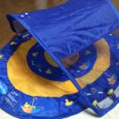 幼児用 日よけ付き浮き輪