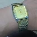 最終値下げ〜 かっこいいよ! 金時計