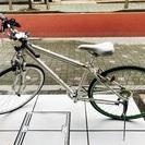 クロスバイク ホワイト