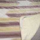 シングルサイズ フワフワ敷き毛布のパッド