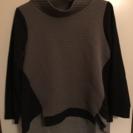 モダン 異素材セーター