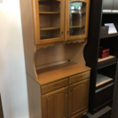 D 木製食器棚