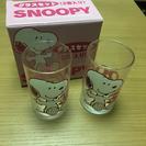 スヌーピーグラス2個セット