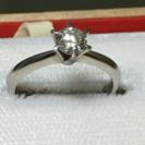 プラチナダイヤの指輪